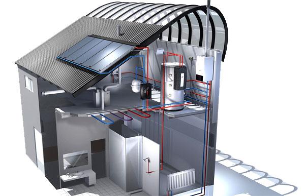 Calefacción Solar Madrid