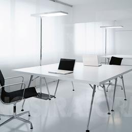 Maqueda y rom n instalaciones iluminaci n madrid for Iluminacion oficinas modernas